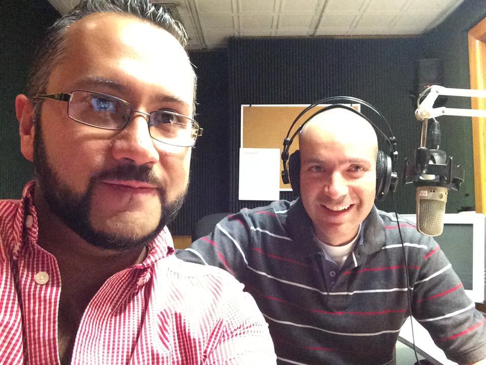 con Gerardo Villegas