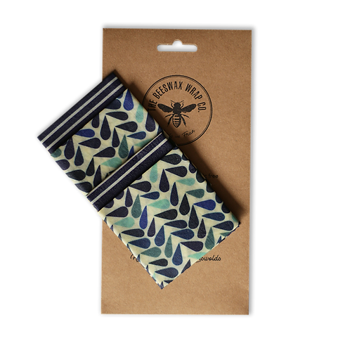 Lunch Pack - Dewdrop | Beeswax Wraps