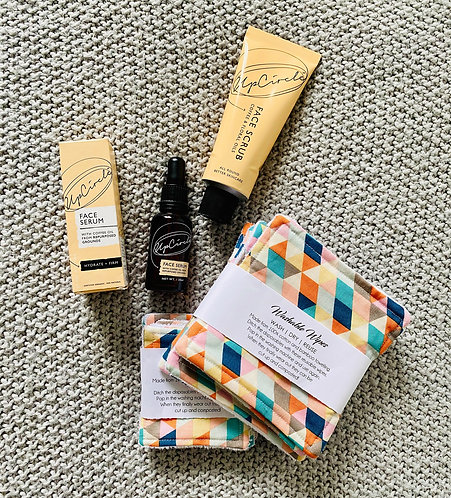 Skincare Bundle | UpCircle Serum and Scrub