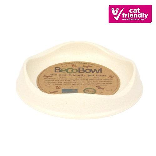 Natural Bamboo Cat Bowl | Beco Pets