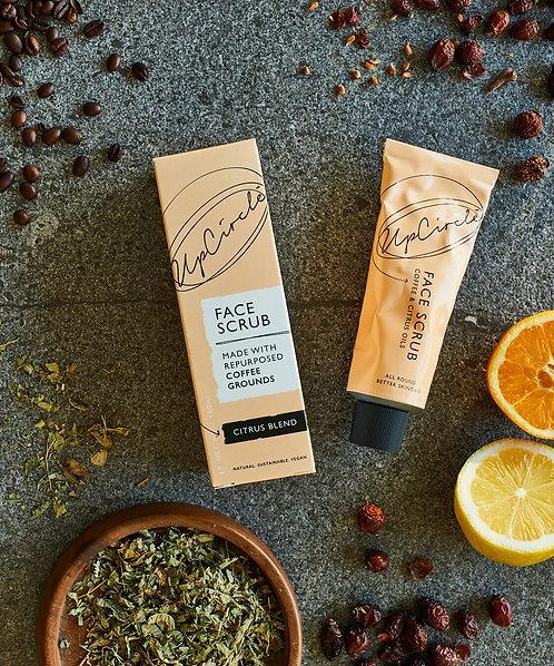 UpCircle Beauty | Coffee Face Scrub - Citrus Blend, 100ml