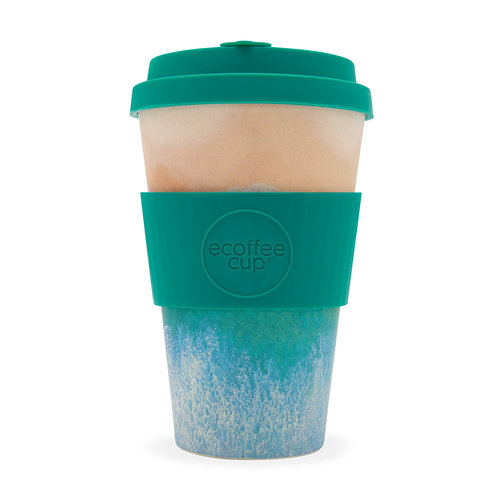 Ecoffee Cup | Porthcurno - Surfers Against Sewage 400ml
