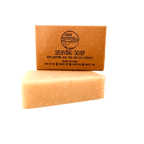 Vegan Shaving Soap | Naked Necessities