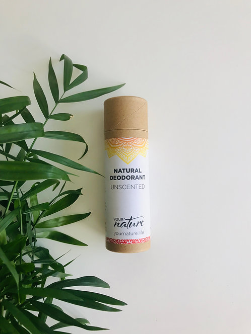 Unscented Natural Deodorant | Your Nature, 70g