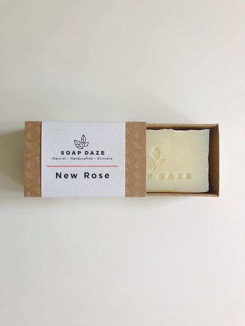 Handcrafted New Rose Soap | Soap Daze, 112g
