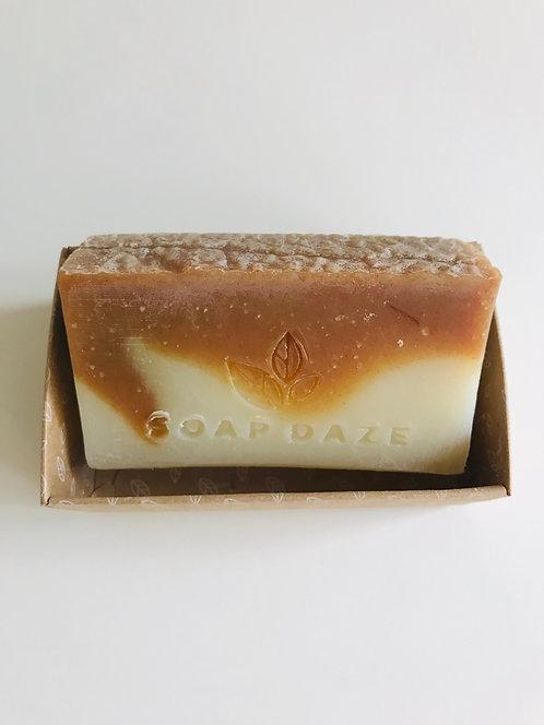 Handcrafted Black Pepper and Ginger Soap | Soap Daze, 112g