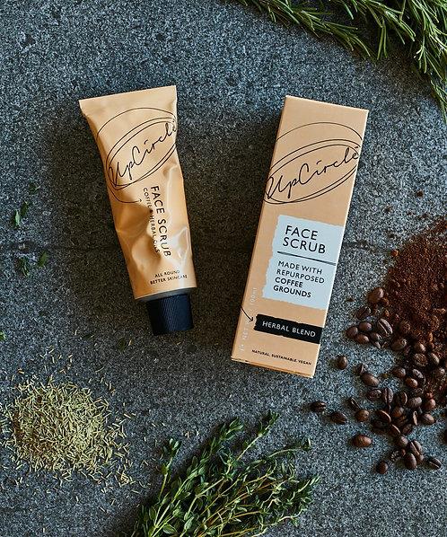 UpCircle Beauty | Coffee Face Scrub - Herbal Blend, 100ml