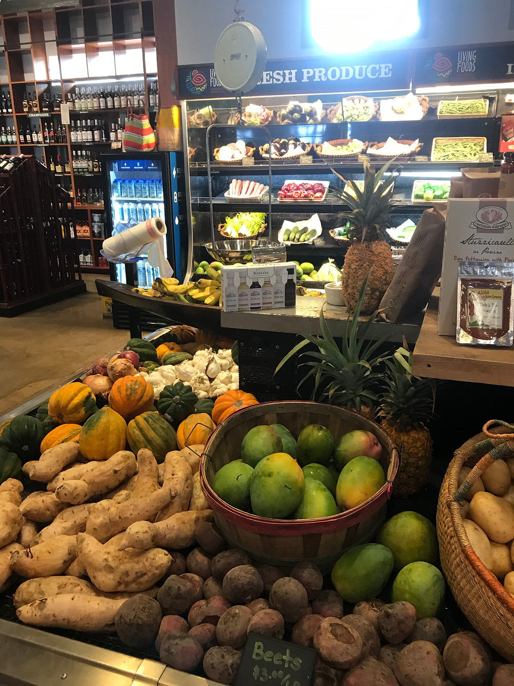 Plastic free, zero waste fruit and vegetables - Hawaii