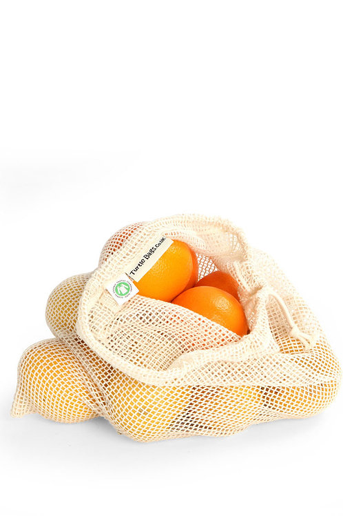 Large Organic Cotton Grocery Bag