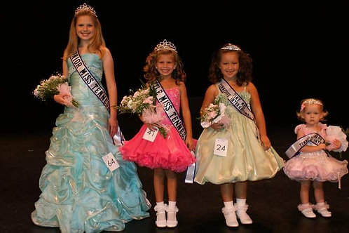 Little Miss Tennessee Division Application Fee