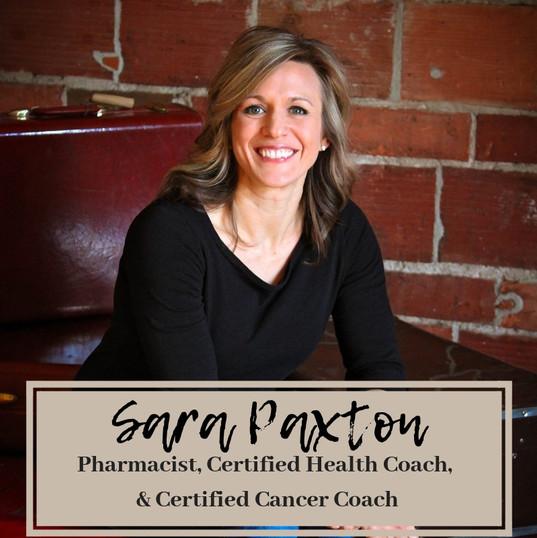 Sara Paxton, Pharmacist & Certified Heal