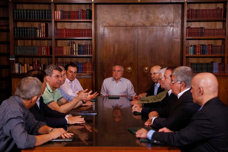 Temer se reúne com ministros