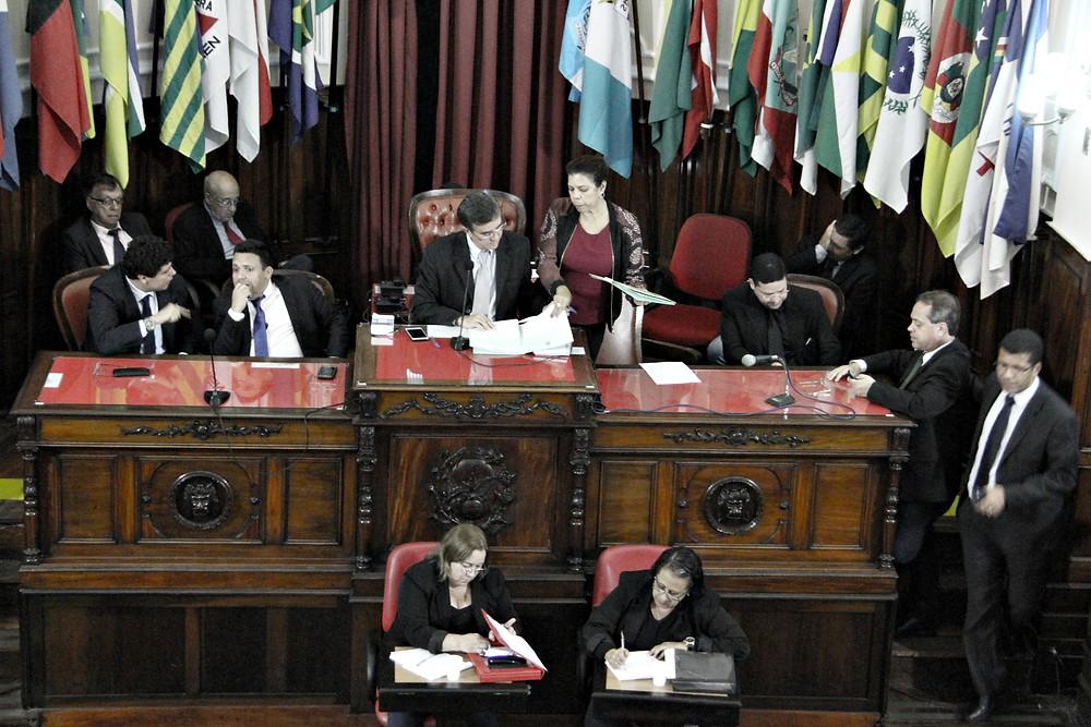 Vereadores aprovam em primeira discussão alteração do Código Tributário (foto Sérgio Gomes)