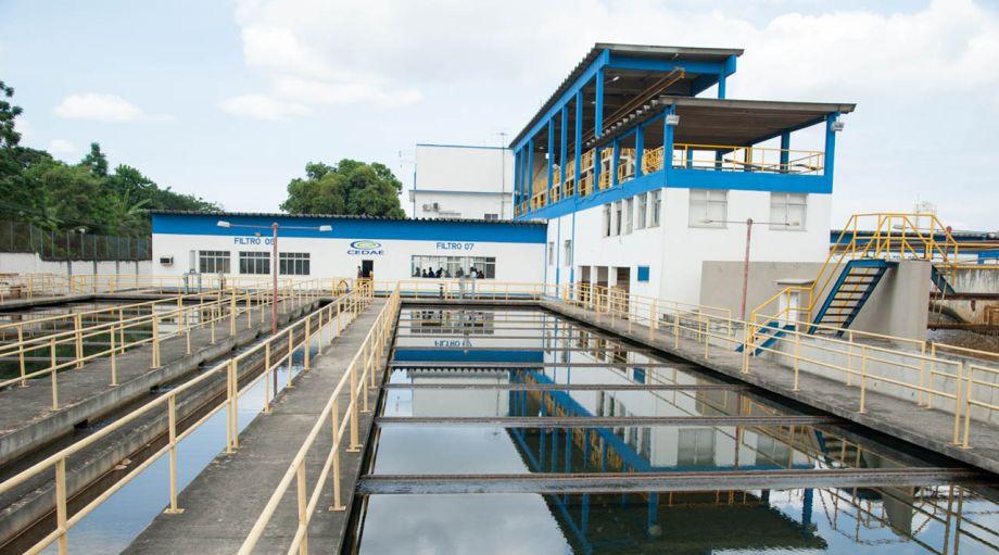 Tratamento de água no sistema Imunana-Laranjal