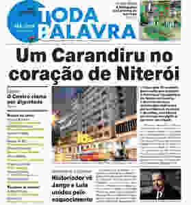 Matéria de capa da edição 39 do TODA PALAVRA