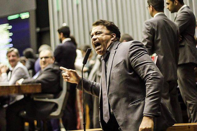 Wladimir Costa (SD-BA), foi um dos deputados que votaram sim pelo relatório da CCJ, que pedia a rejeição da denúncia / Mídia Ninja
