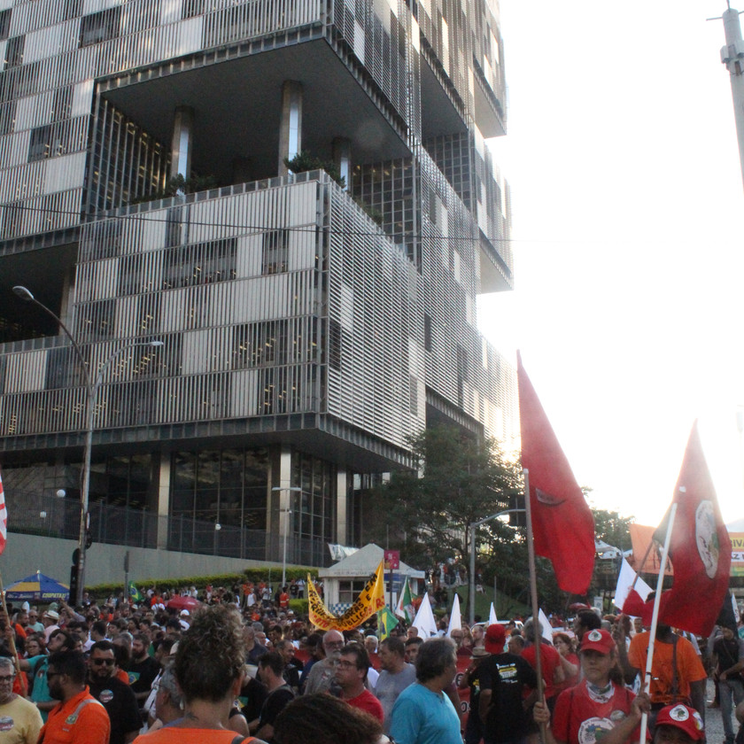 Ato saiu da sede da Petrobras