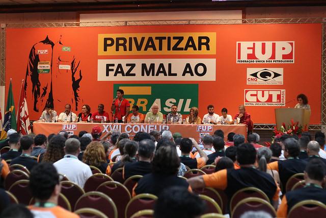 Congresso da Federação Única dos Petroleiros em Salvador