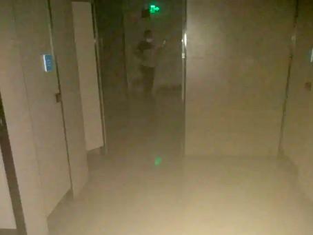 Teto de banheiro do Plaza desaba com 5 mulheres dentro