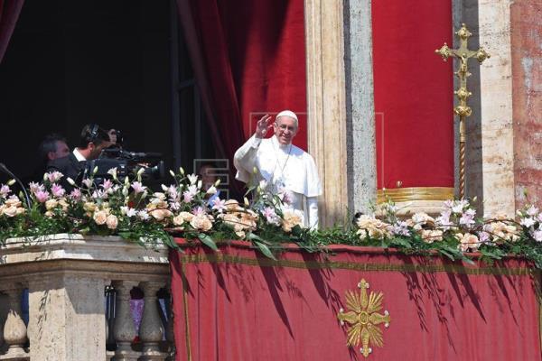 Mensagem de Páscoa do papa Francisco