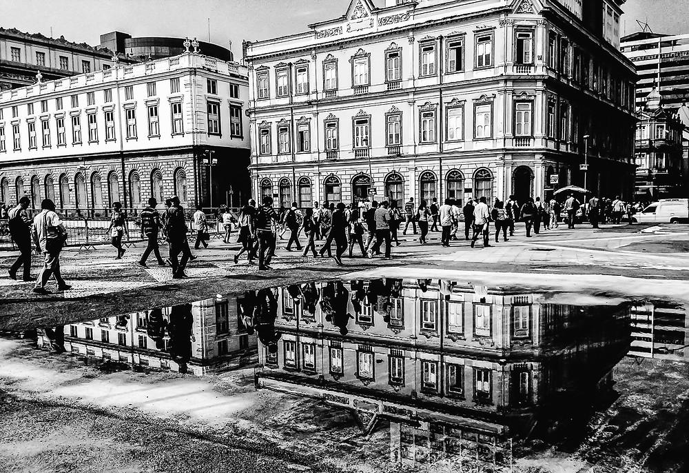 Foto do niteroiense Wander Rocha, vencedora do concurso de fotografias sobre arquitetura histórica do Estado do Rio