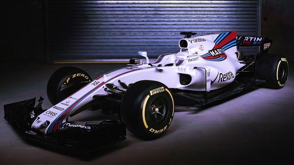Novo carro da Williams