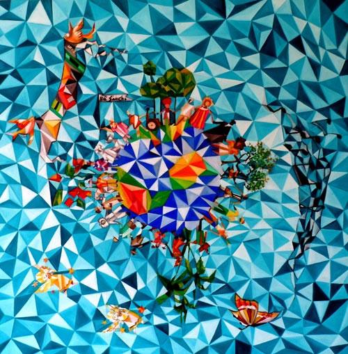 Artista friburguense trará quadros e instalações à Sala de Cultura