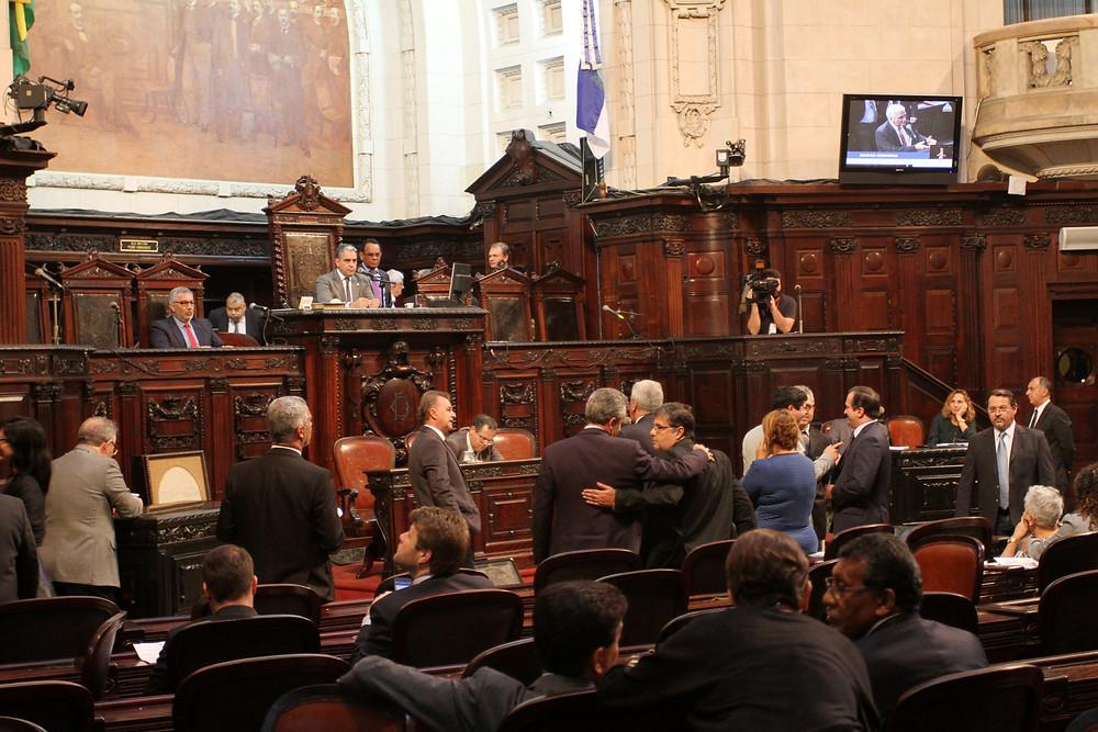 Plenário da Alerj]