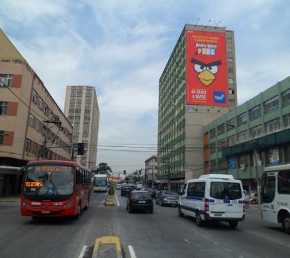 Avenida Feliciano Sodré, no Centro de Niterói