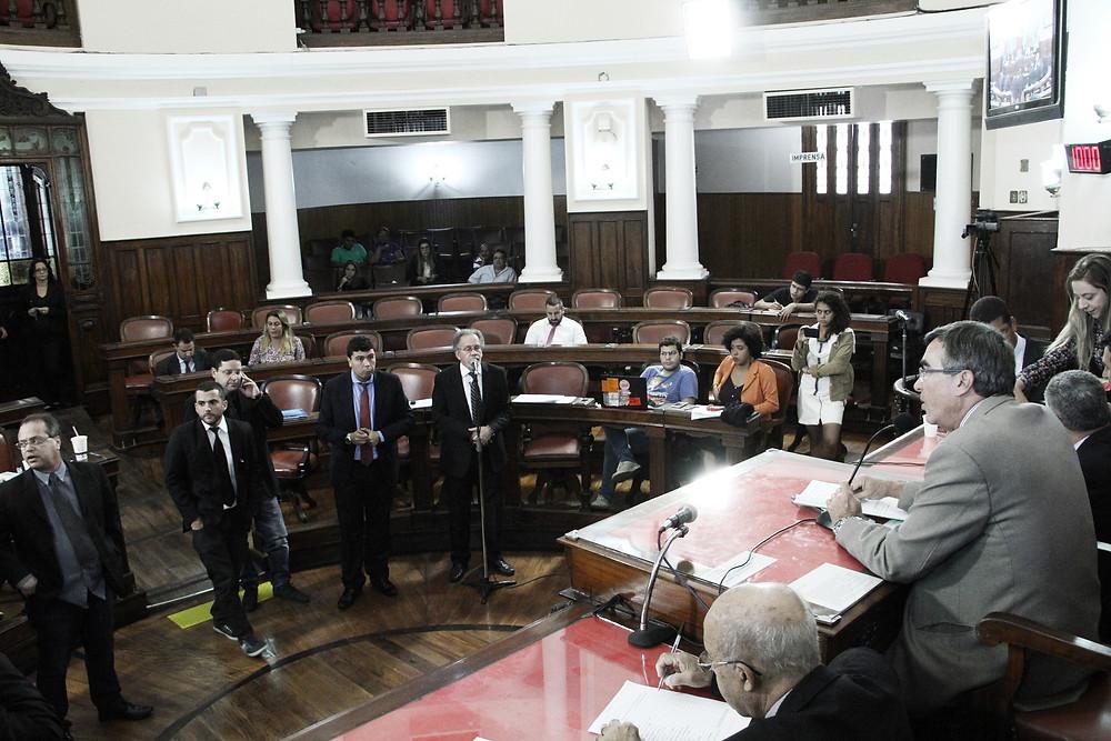 Última sessão da Câmara de Niterói antes do recesso - Foto Sérgio Gomes