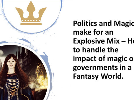 Magic and Politics make for an explosive mix