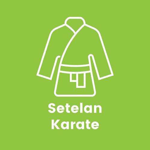 Setelan Karate