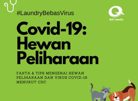 Fakta Covid-19 dan Hewan peliharaan (CDC)