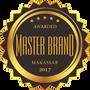 Penghargaan Master Brand Award Makassar 2017 untuk QnC Laundry
