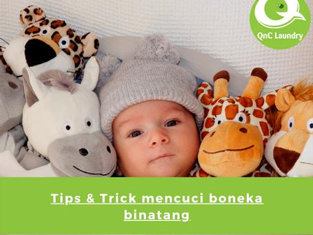 Tips dan Trik Mencuci Boneka Binatang