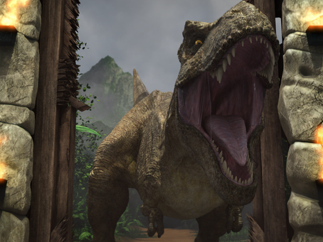 Para los niños los dinosaurios nunca pasan de moda