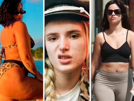 5 famosas que no temen mostrar sus imperfecciones