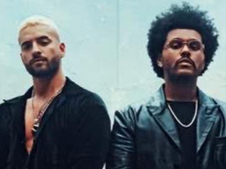 Maluma y The Weeknd juntos