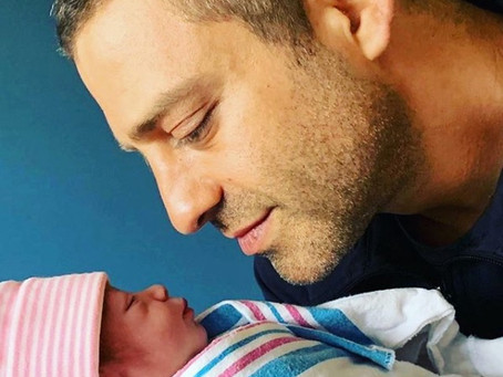 Ari Borovoy se convierte en papá por cuarta ocasión
