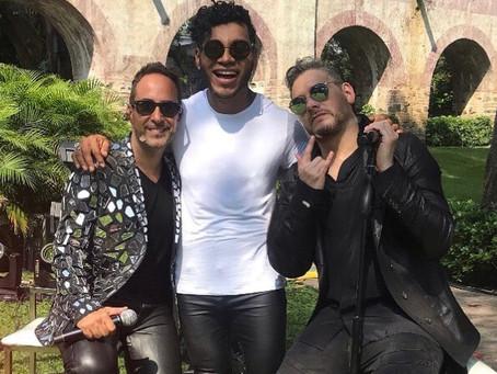 Alan, Héctor y Samo ofrecen un concierto inolvidable