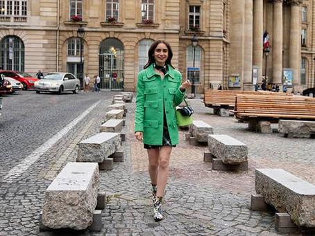 """""""Emily in Paris"""" la nueva tendencia de moda"""