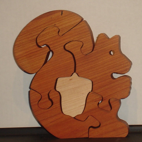 Squirrel (two wood)