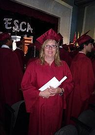 Graduation de Danielle Lapierre, présidentede l'AIBO