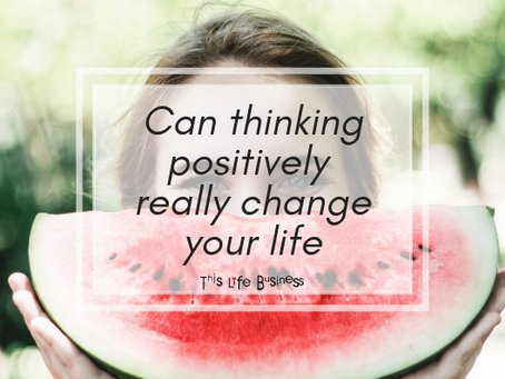 Can thinking positively really change your life?