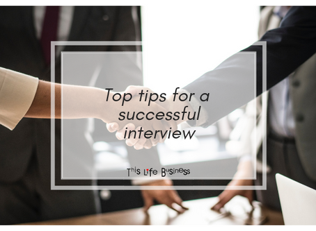 Top tips for a successful interview