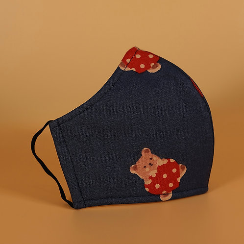 Ugly Bear - 3 Layer Cotton Face Mask