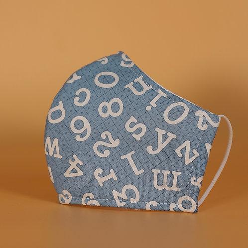 Blue w/ Alphabet