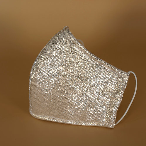 Metallic - 3 Layer Cotton Face Mask