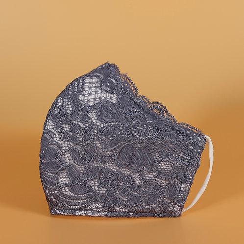 Lavender Lace - 3 Layer Cotton Face Mask