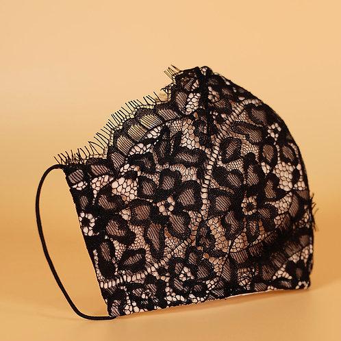 Black Lace -Floral